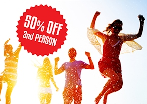 50% Off London Flights For Every 2nd Person Booked