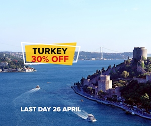 Turkey %30 off