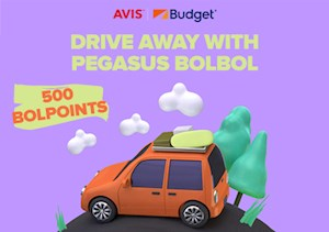 Pegasus BolBol - In partnership with Avis and Budget