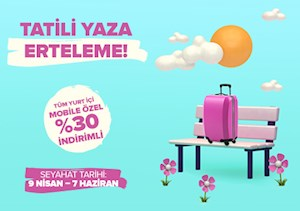 Tüm Yurt İçi Mobile Özel %30 İndirimli