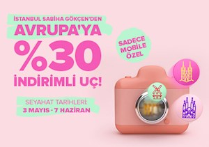Tüm Avrupa Mobile Özel %30 İndirimli