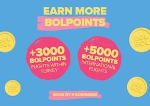 Earn More BolPoints