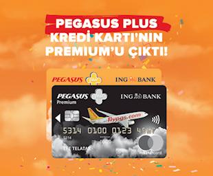 ING Pegasus Plus Kredi Kartı'nın Premium'u Çıktı!