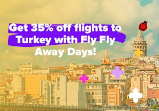 35% Off Turkey Flights from Europe!