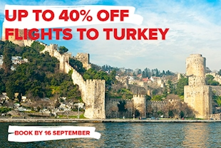 Selected Routes Up To 40% Off