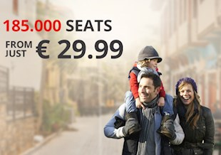 185.000 seats from just €29.99