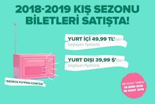 2018 - 2019 Sonbahar Kış Biletleri Satışta