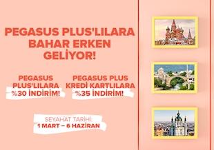 Pegasus Plus'lılara Bahar Erken Geliyor