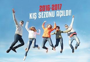 2016-2017 Kış Sezonu Açıldı