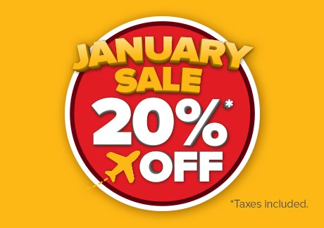 January Sales – 20% Off