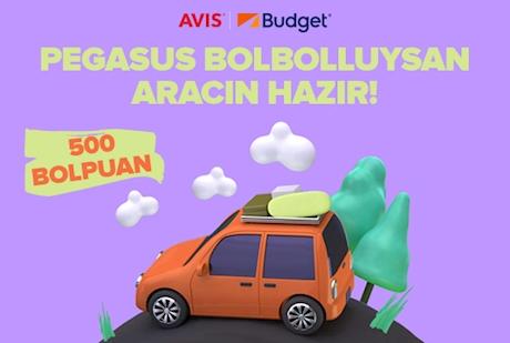 Pegasus BolBol - Budget & Avis İş Birliği