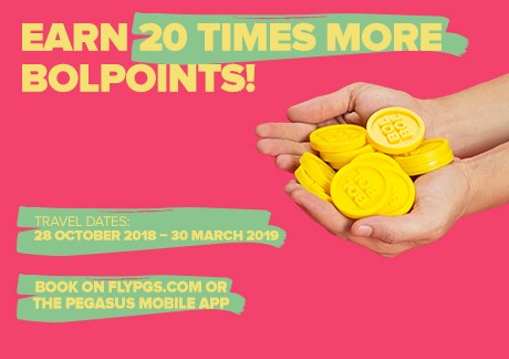 Earn 20 Times More BolPoints