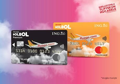 ING Pegasus BolBol Kartlılara Tüm Yurt İçi %50 İndirimli