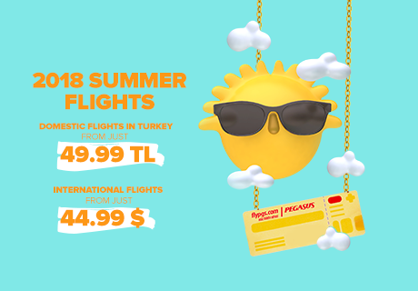 Summer 2018 Flights Now On Sale !