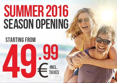 Summer 2016 Season Openning