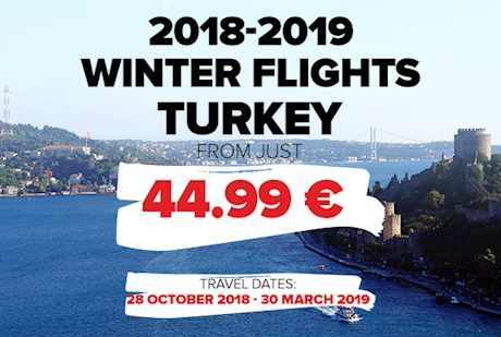 2018 - 2019 Winter Flights Are On Sale