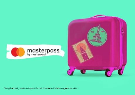 Masterpass'e Özel Yurt İçi Hatlarda %30 İndirim