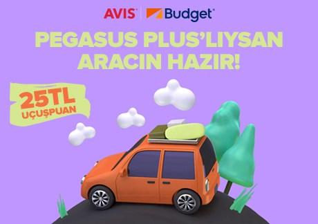 Pegasus Plus - Budget & Avis İş Birliği