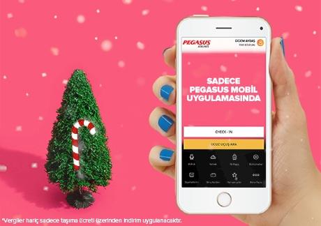 Pegasus Mobil Uygulamama Özel Tüm Hatlar %40 İndirimli!