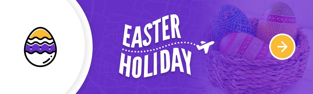 places to go in Easter holiday