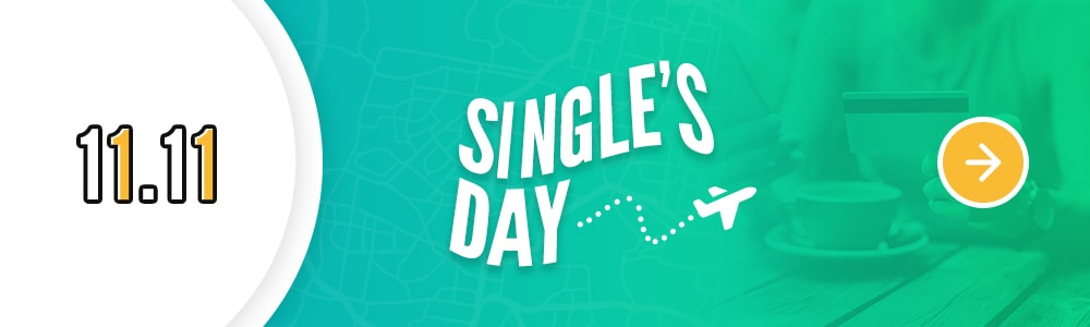 Best places to go in singles day 11.11