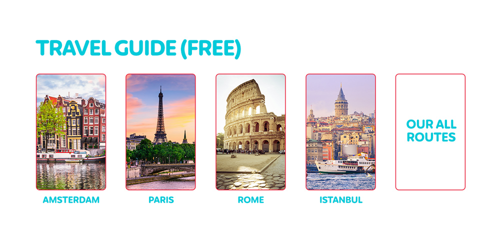 Fly&Watch destinations