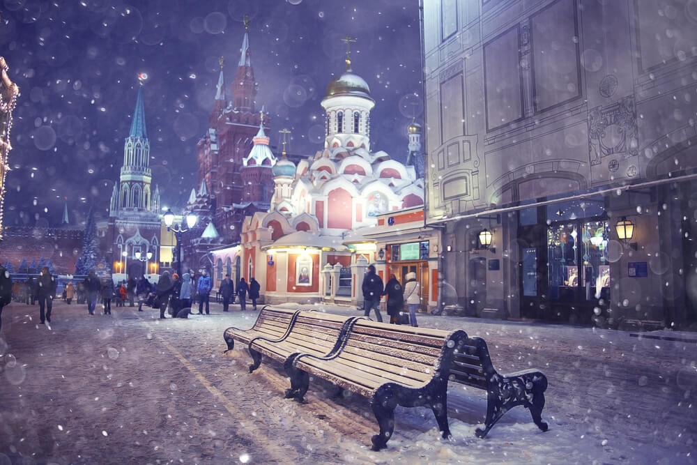 Cyber Monday in Moscow