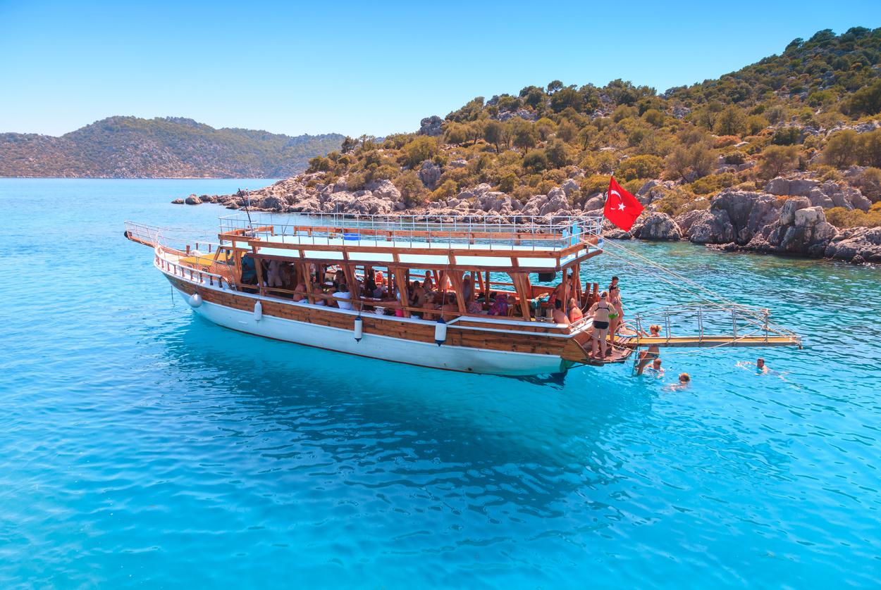 antalya blue voyage tour