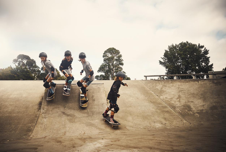 where to do skateboarding