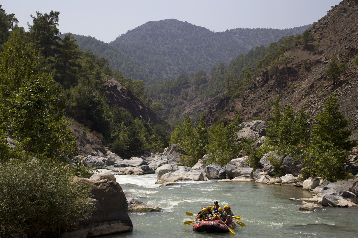 how to do rafting