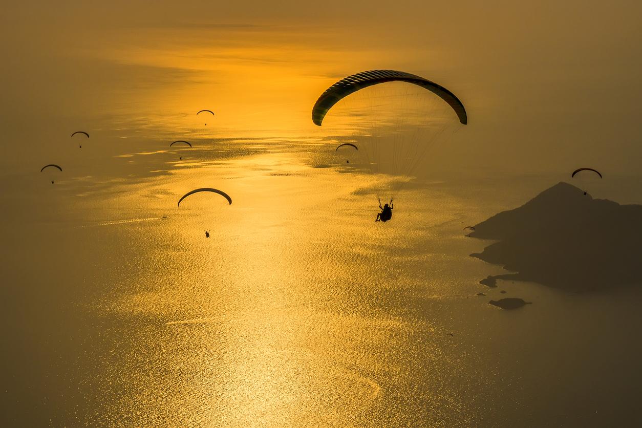 paragliding routes