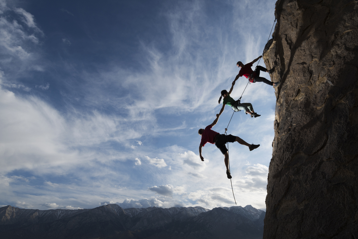 how to do abseiling