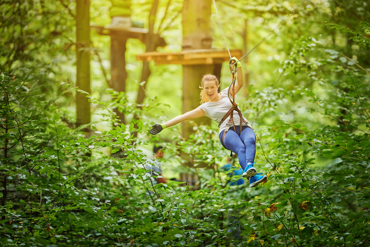 when is the best time for zip lining