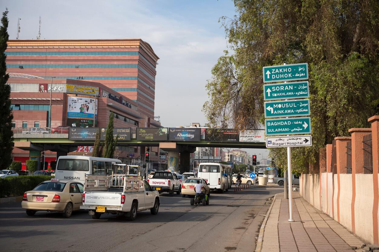 public transportation in Iraq