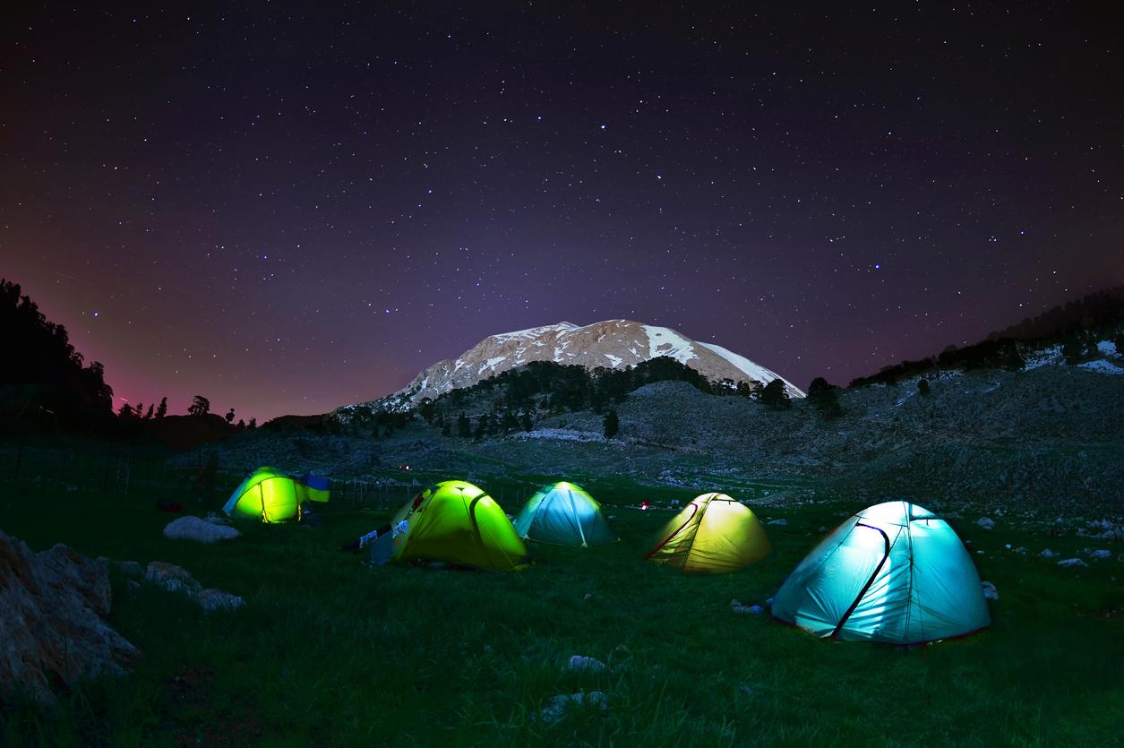Türkiye kamp alanları