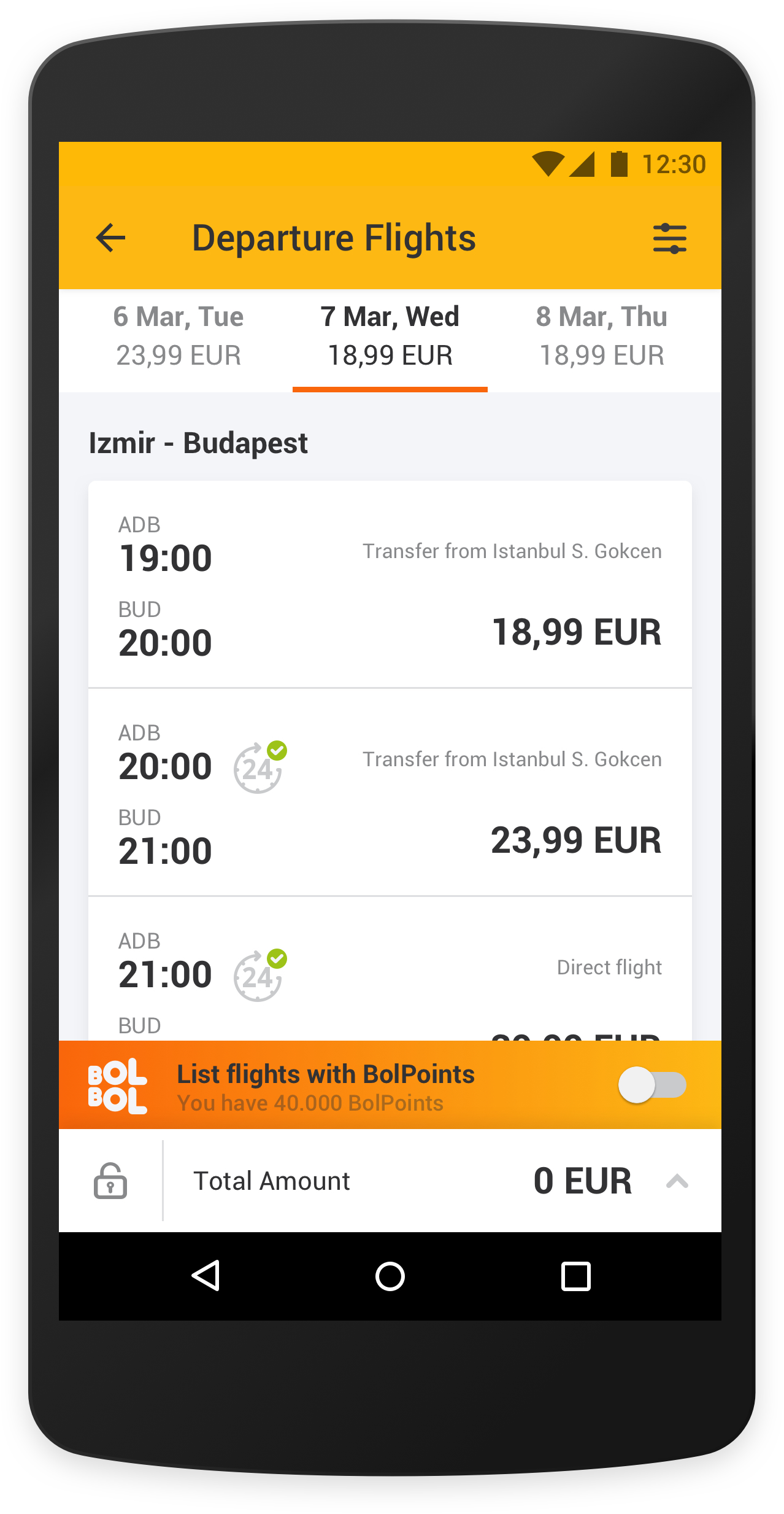 pegasus mobile application