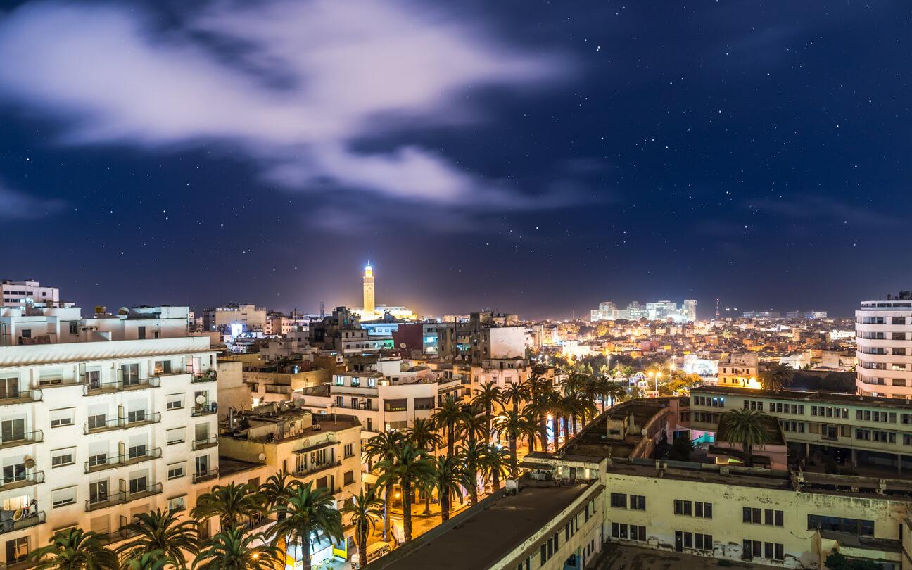 Fas'ta gece hayatı