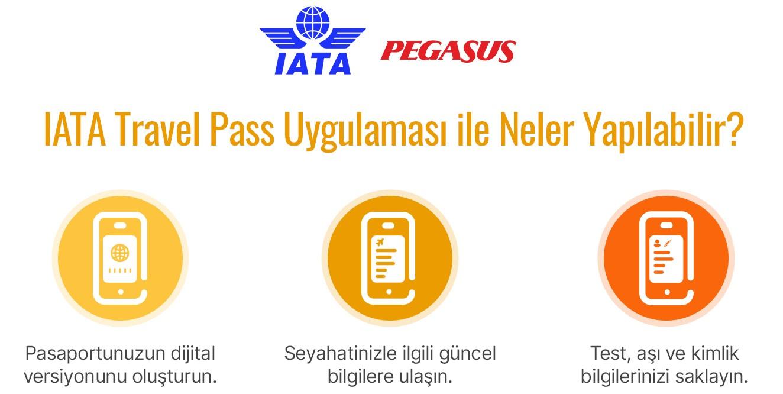 iata travel pass uygulaması ne işe yarıyor