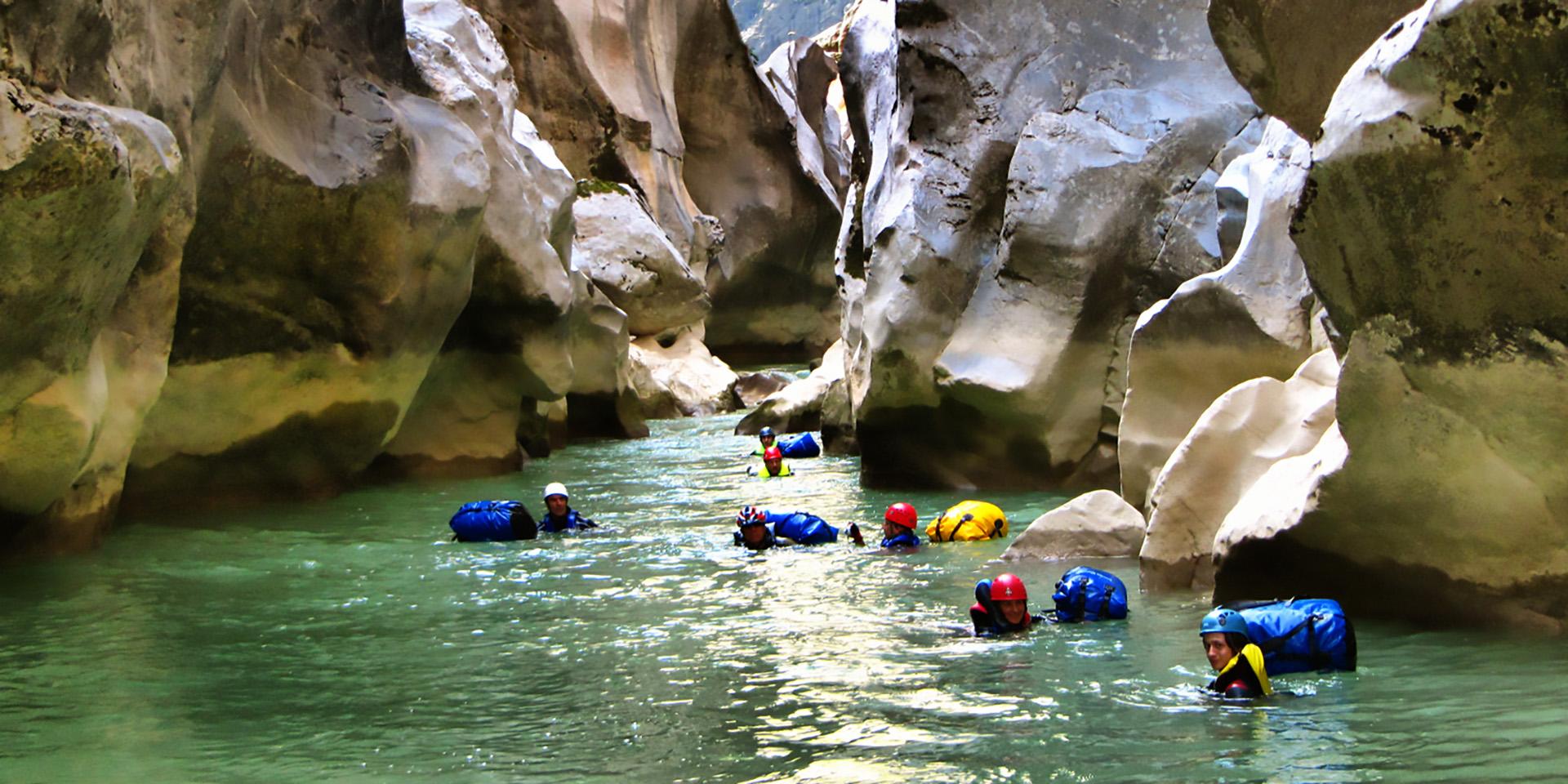 canyoning nasıl yapılır