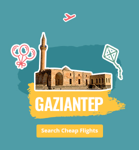 flights to Gaziantep