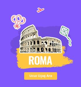Roma uçak bileti
