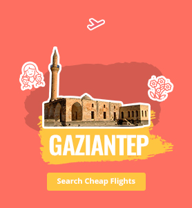 flights to Gaziantep