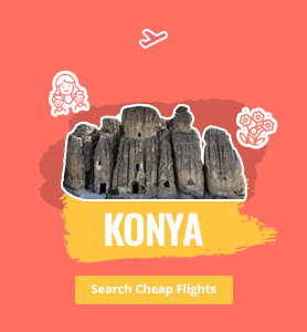 flights to Konya