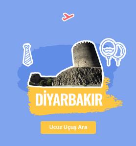 Diyarbakır uçak bileti