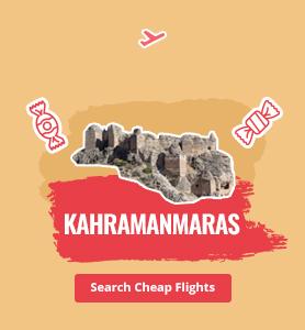 flights to Kahramanmaras