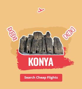 flights to Konya