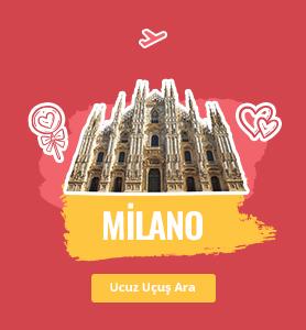 Milano uçak bileti