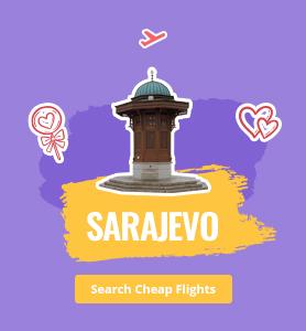 flights to Sarajevo