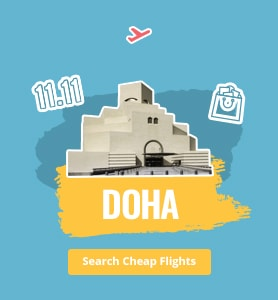 flights to Doha