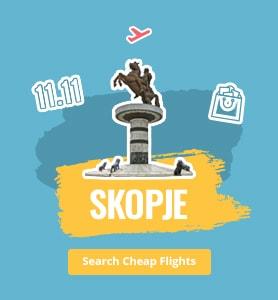 flights to Skopje